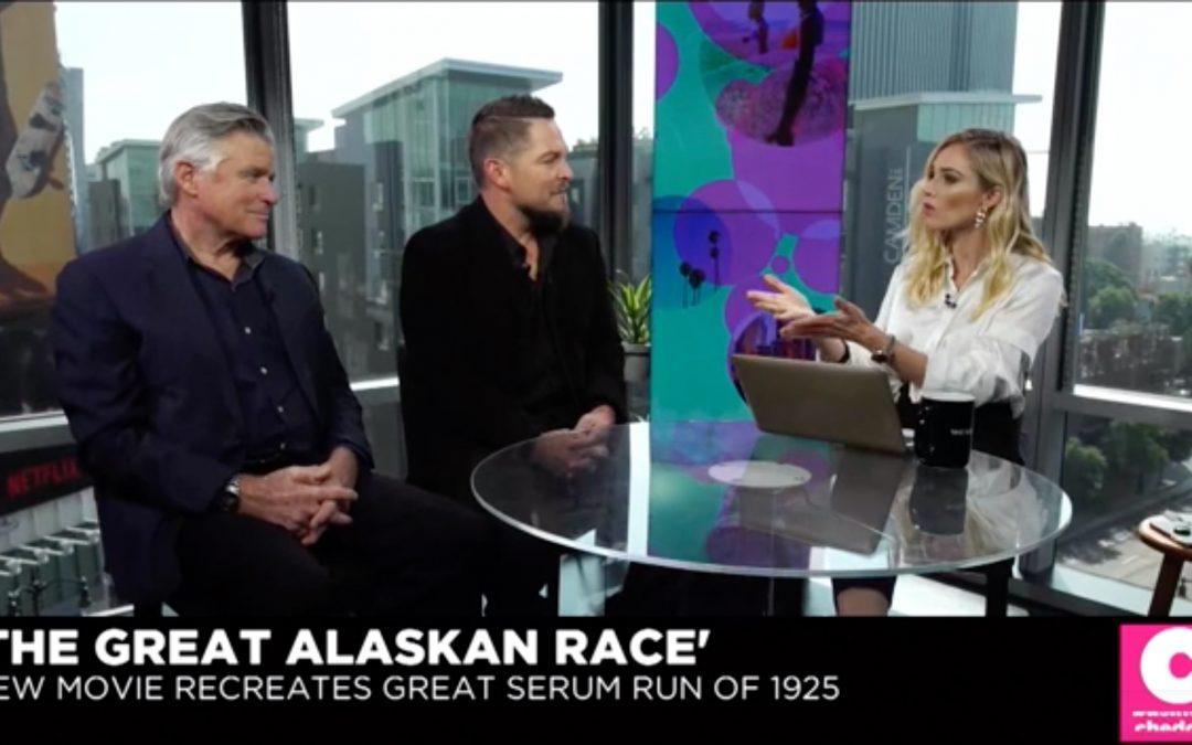 Cheddar TV: 'The Great Alaskan Race' Interview With Treat Williams and Brian Presley